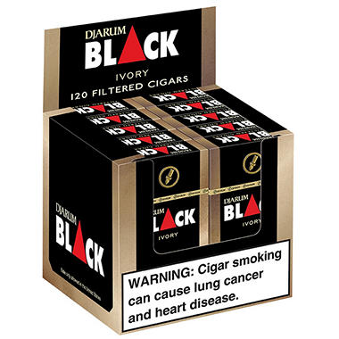 Djarum Black Vanilla Filtered Clove Cigars (10 ct., 12 pk.)