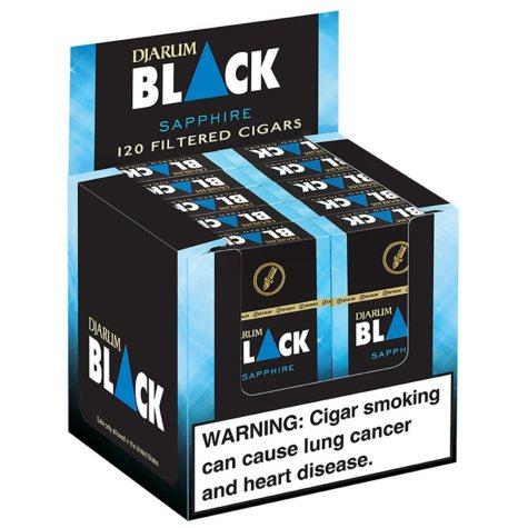Djarum Black Sapphire Menthol Filtered Cigars (10 ct., 12 pk.)