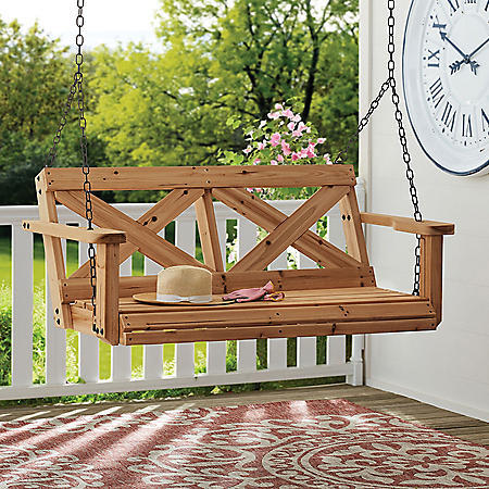Backyard Discovery Farmhouse Porch Swing