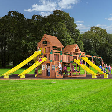 Backyard Discovery Safari Cedar Playset