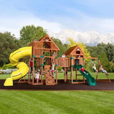 Backyard Odyssey Reno Cedar PlaysetSams Club