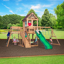 Backyard Discovery Caribbean Cedar Swing Set