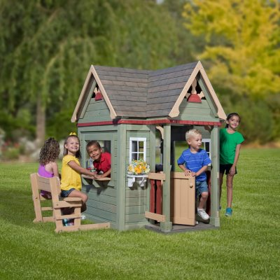 Swing Sets With Installation. Playhouses