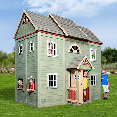 Victorian mansion playhouse sam 39 s club for Victorian play house