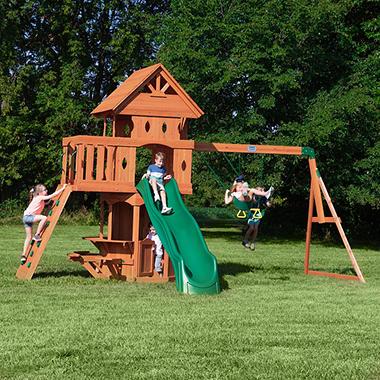 Backyard Discovery Woodland Cedar Swingset
