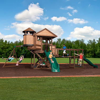 Backyard Discovery Timber Cove Swing Set Sam S Club
