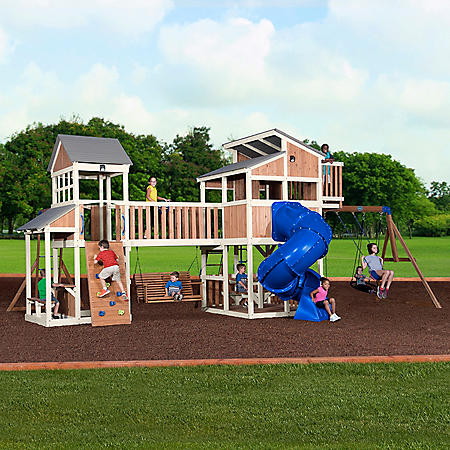 Backyard Discovery Skyline Retreat Cedar Swing Set/Playset