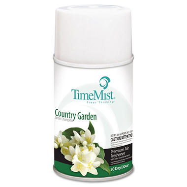 TimeMist Metered Aerosol Dispenser Refill - Country Garden - 12 refills