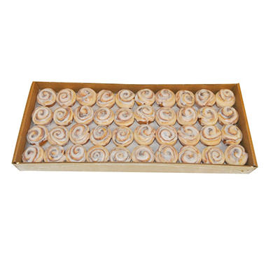Case Sale: Mini Cinnamon Rolls for Breakfast Tray (240 ct.)