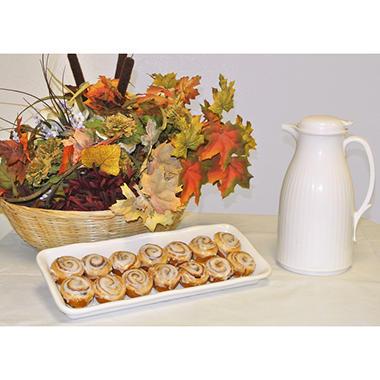 Upper Crust Bakery Gourmet Mini Cinnamon Rolls (33 oz., 40 ct.)