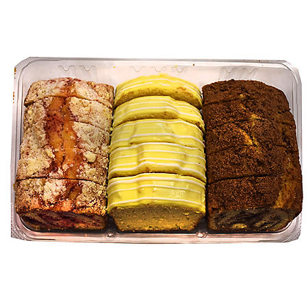 Upper Crust Bakery Assorted Variety Sliced Loaf Cake (41 oz.)