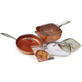 Copper Chef 7-Piece Cookware Set