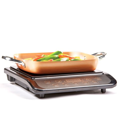 Copper Chef Induction Cooktop with Frying Pan
