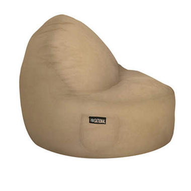 Two-Seater Sitsational - Fawn Suede