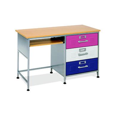 Genial Locker Desk W/ Mix N Match Drawer Panels