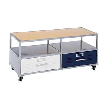 Locker Media Cart w/ Mix-n-Match Drawer Faces