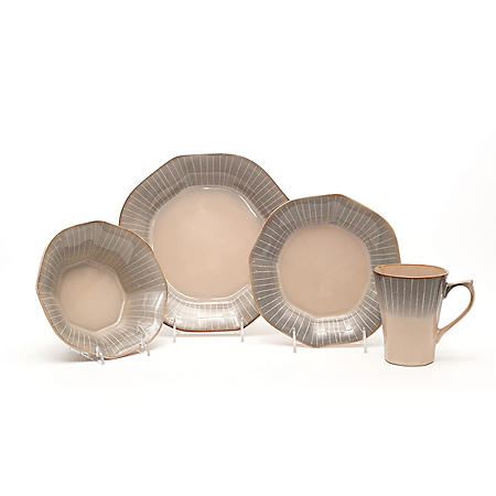 Ombre 32-Piece Dinnerware Set
