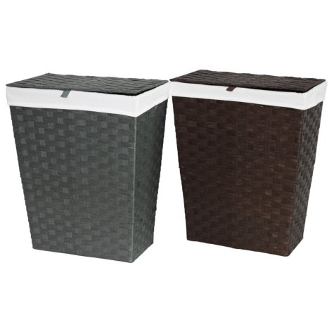 Family Size Papercord Hamper (Available in Brown or Grey)