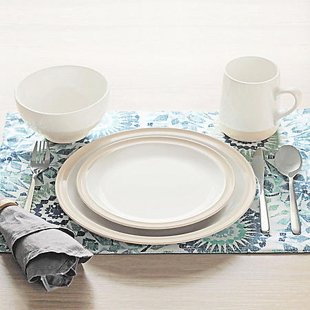 16-Piece Tonal Dinnerware Set