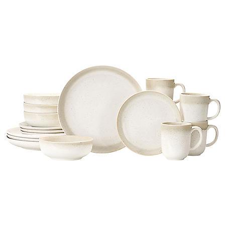 16-Piece Solange Dinnerware Set (Assorted Colors)