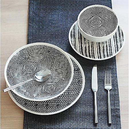 16-Piece Farrington Dinnerware Set (Assorted Colors)