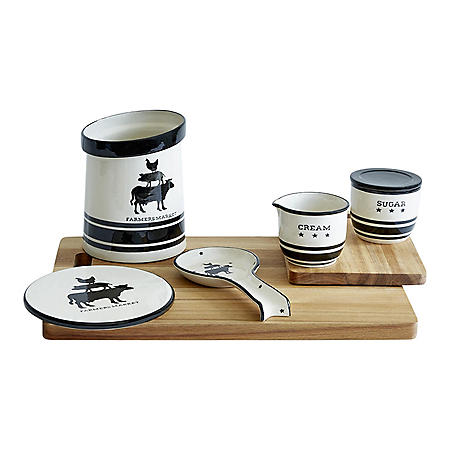 5-Piece Vintage Farmhouse Kitchen Set