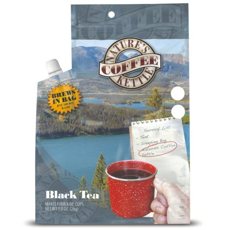 Nature's Coffee Kettle Black Tea (1.2 oz. pouch, 12 pk.)