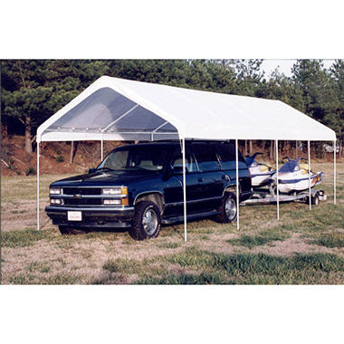 Replacement Canopy - White - 12' x 27'