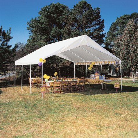 Hercules Replacement Cover - White - 18' x 20'