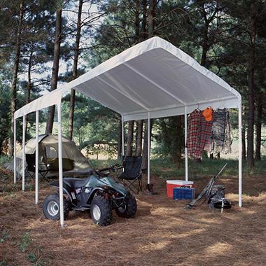 Universal Canopy - White - 12u0027 x 20u0027 & Universal Canopy - White - 12u0027 x 20u0027 - Samu0027s Club
