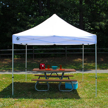 King Canopy™ Festival 10u0027 x 10u0027 White Instant Pop-Up Shelter : white canopy - memphite.com