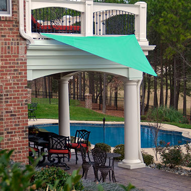king canopy sun triangular sun shade sail 10u0027 10u0027