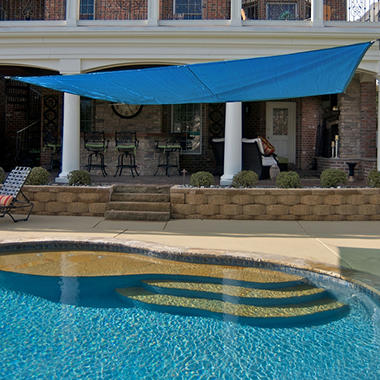 king canopy sun shade sail 16u0027 x 16u0027