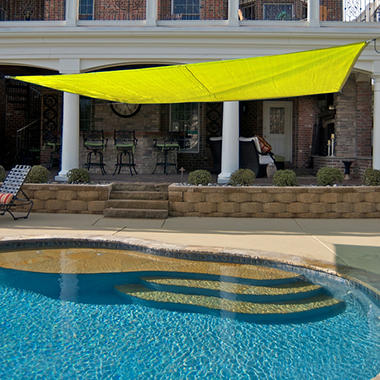 King Canopy Quadrilateral Sun Shade Sail - 16' × 16'
