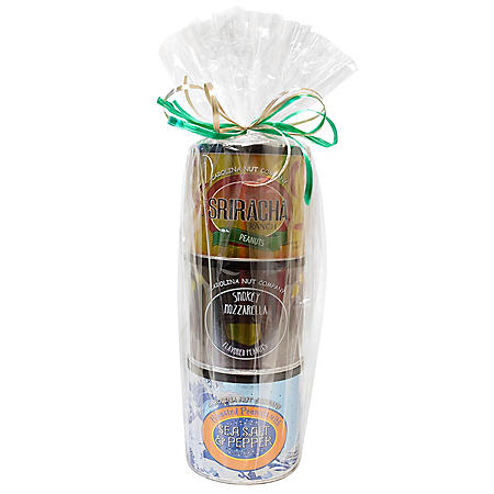 Carolina Nut Seasoned Holiday Tower (10 oz. ea., 3 pk.)