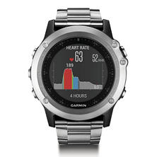 Garmin Fenix 3 HR with Additional Titanium Band