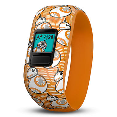 Garmin Vivofit Jr. 2 with Stretchy Band Bundle (Star Wars BB-8 Club)