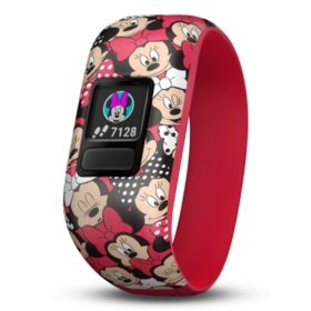 Garmin Vivofit Jr. 2 with Stretchy Band Bundle (Minnie Mouse Club Bundle Club)