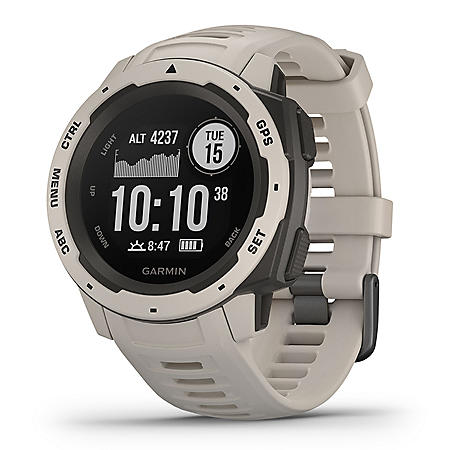Garmin Instinct Rugged GPS Watch (Tundra)