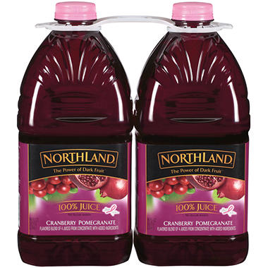 Northland Cranberry Pomegranate 100% Juice - 96 fl. oz. - 2 pk.