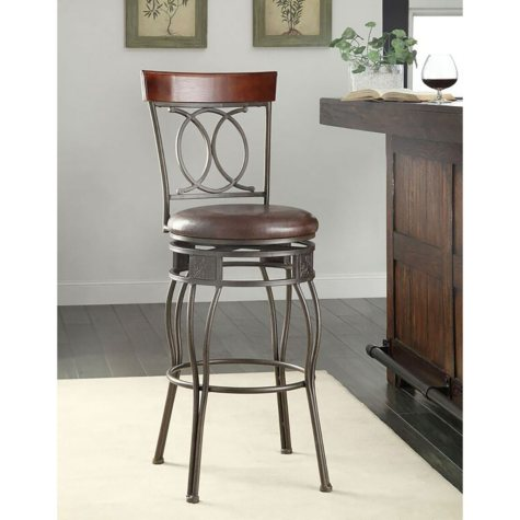 Scroll-Back Stool (Assorted Sizes)