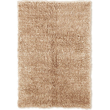 Flokati Shag Rug, Tan (Assorted Sizes)