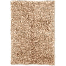 Flokati New Shag Rug, Tan (Assorted Sizes)