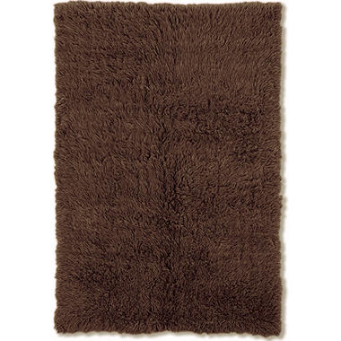 Flokati New Shag Rug, Cocoa (Assorted Sizes)