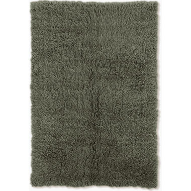 Flokati New Shag Rug, Olive (Assorted Sizes)