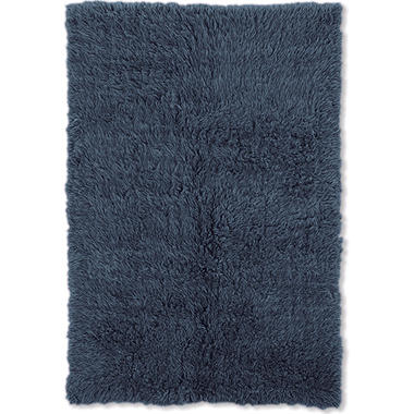 Flokati New Shag Rug, Denim (Assorted Sizes)