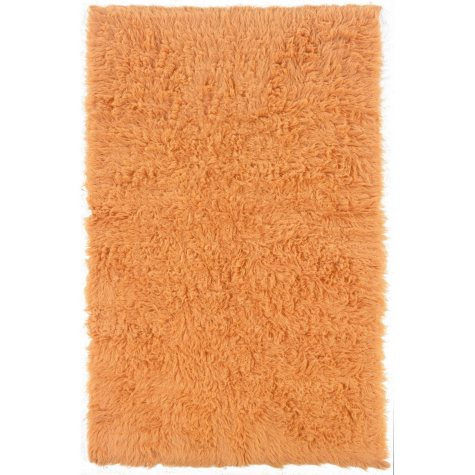 Flokati New Shag Rug, Pumpkin (Assorted Sizes)