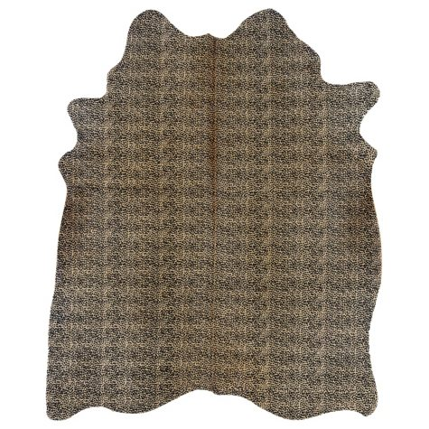 Natural Cowhide Rug, Cheetah Print