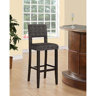 Vega Bar Stool Myrtle Panda Tweed Assorted Sizes Sam