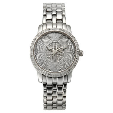 Croton 0.75 ct. t.w. Diamond, Sapphire Crystal and Stainless Steel Watch